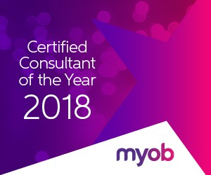 MYOB consultant of the year 2018